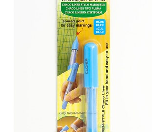Clover 4710 Chaco Liner blue fabric marker