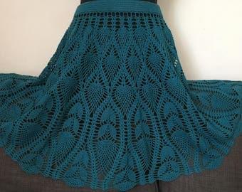 Crochet women skirt
