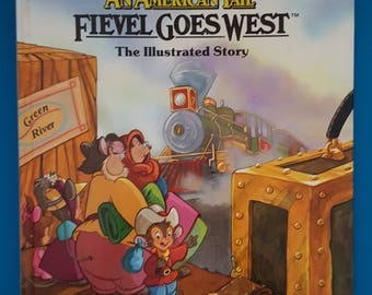 An American Tail Fievel Goes West ~ Steven Spielberg Presents