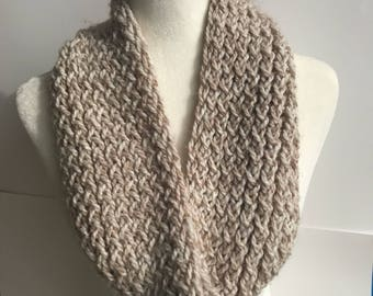 Handmade Knitted Infinity Scarf 3024