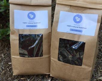organic fertilizer (6lbs) - Organic grounds Coffee compost - Nitrogen rich fertilizer - Organic top soil for gardening - ecofriendly