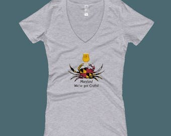Maryland, We've Got Crafts - Women's V-Neck T-shirt