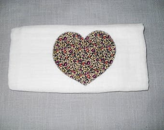 Swaddle baby heart