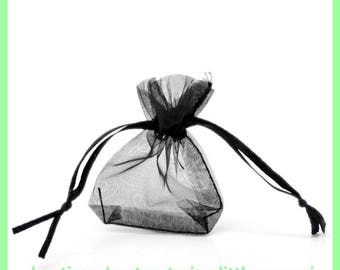 organza bag 7 X 5 cm Pocket N22 to embellish your gifts