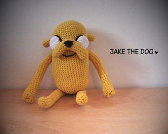 JAKE The Dog Amigurumi Adventure Time