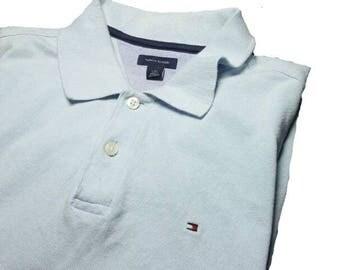 TOMMY HILFIGER Made in Sri Lanka Polo Shirts Size L