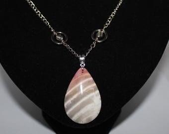 Madagascar Zebra Jasper necklace