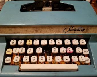 Vintage Secretary Brand typewriter