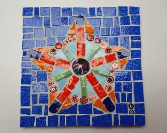 star mosaic tile