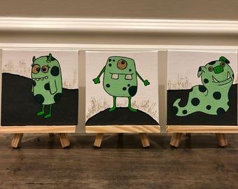 Green Goblin Mini Monsters