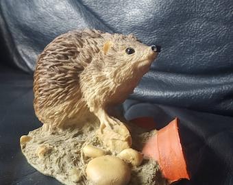 Coalport fine art figurines Hedgehog