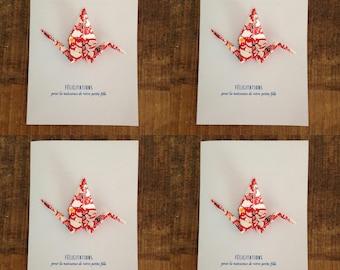 Congratulations - Origami card