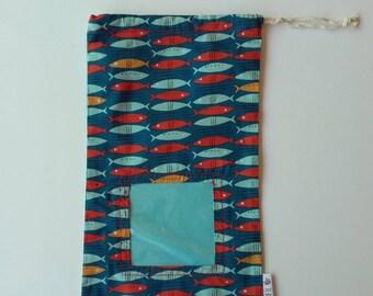 Organic cotton tote bag * medium model. *