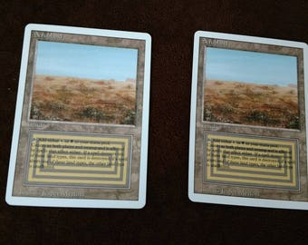 Scrubland MTG card unlimeted