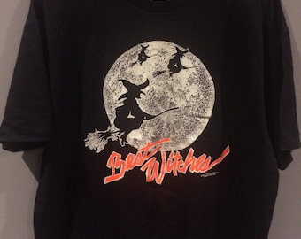 1991 Best Witches glow in the dark tshirt
