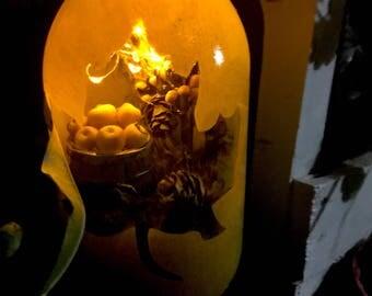Solar LED Fall/Autumn Lantern