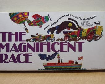 The Magnificent Race Board Game