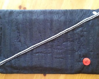 Black Lace hand bag
