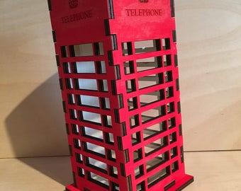 Phone Booth Money Box