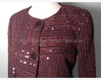 Chanel wool vintage blazer