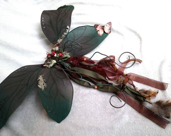 Forest/woodland fairy wings