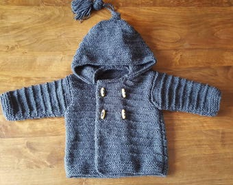 Hooded jacket size 6 months