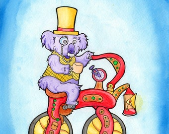 Old-fashioned Fancy Koala pedaler