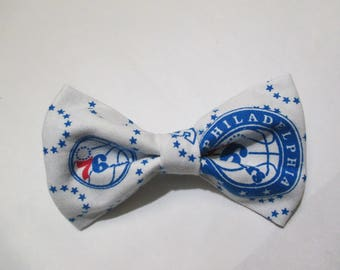 Nigel's  76ers  Philadelphia Bow Tie!  A Fun Way to Support the Basketball Season!