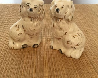 Beswick miniature hearth dogs.