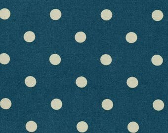 Oilcloth sold green pea pastel blue cotton has the cut