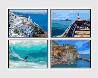 Sea Art Print, Sea Wall Print, Sea Photography, Sea Print, Sea prints