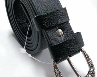 İnlaid buckle belt