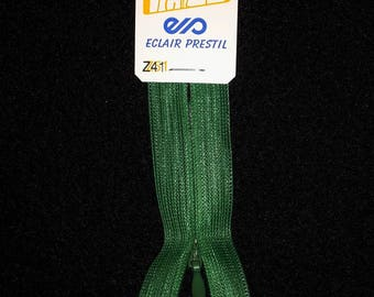zipper invisible 22 cm not separable Z41 vivid green Emerald 721