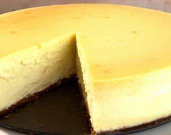 Wonderfully delicious New York Style cheesecake