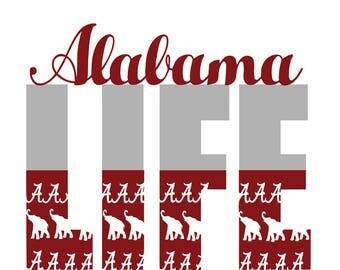 Alabama Crimson Tide svg , Alabama svg , Crimson Tide svg,Roll tide,alabama football,football svg,roll tide svg,life design,life svg