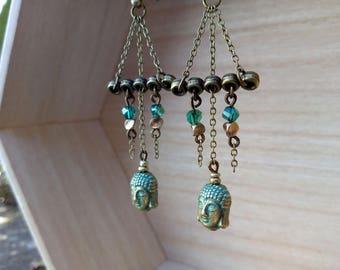 Beautiful Buddha earrings