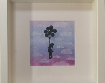 Banksy inspired Girl with Balloons