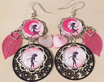 """Fairy"" earrings"