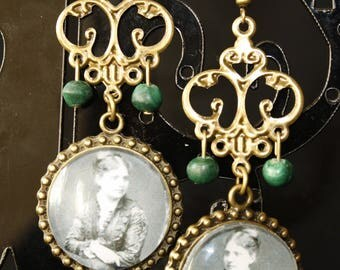 The belle epoque Lady earrings