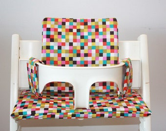 Chair cushion high stokke - tripp trapp multicolor