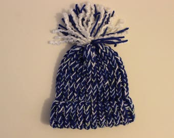 Dark Blue Newborn Hat