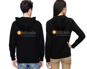 Couple hoodies Bitcoin hoodie Crypto Trader CRYPTOCURRENCY Virtual Currency Bitcoin logo Bitcoins hoodie Cotton Clothing In CRYPTO we TRUST