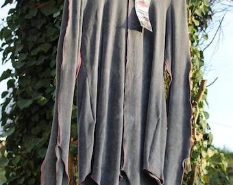 """SpriteWood"" tunic in jersey Grey Velvet - last piece!"