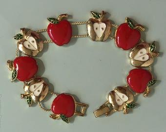 Vintage apple Bracelet