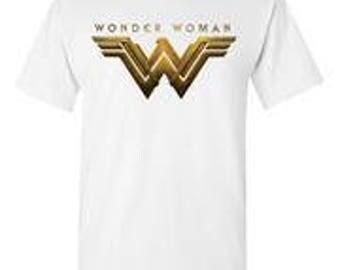 Wonder Woman White T-Shirt