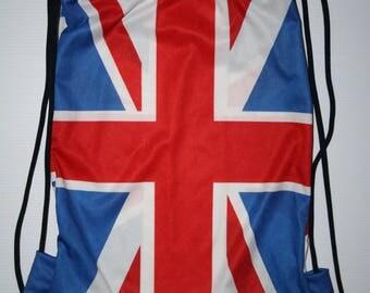 Ginger: flag print Backpack