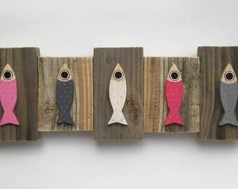 """Sardines - """"Plumetis sardines"""" painting"""