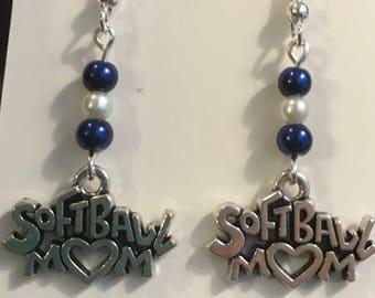 Softball Mom Earrings
