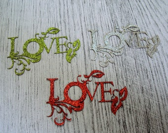 love glitter 1056 cutting paper for your creation