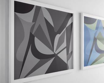 Abstract Wall Art - digital